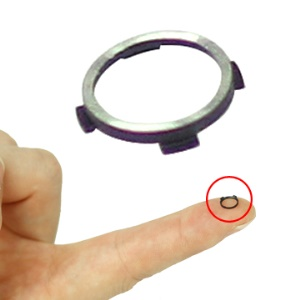 Original Camera Lens Cover Ring Repair Part for iPhone 3GS