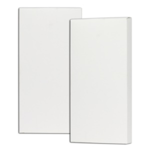 iPhone 3GS Touch LCD Protector Package Box Case White (Also Fits other Cell Phones)
