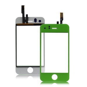 iPhone 3GS Digitizer Touch Screen Replacement - Green