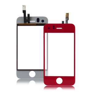 iPhone 3GS Digitizer Touch Screen Replacement - Red
