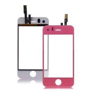 iPhone 3GS Digitizer Touch Screen Replacement - Pink