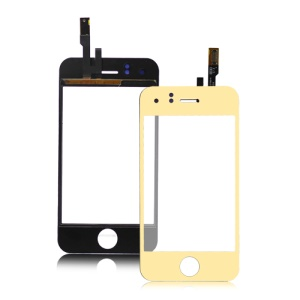 iPhone 3GS Electroplating Digitizer Touch Screen Replacement - Gold