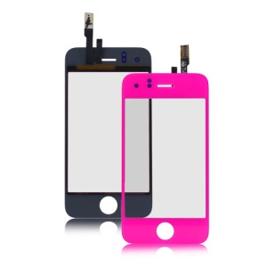 iPhone 3GS Digitizer Touch Screen Replacement - Hot Pink