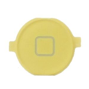 Home Button Key Replacement for iPhone 3GS/3G - Yellow