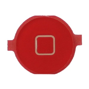 Home Button Key Replacement for iPhone 3GS/3G - Red