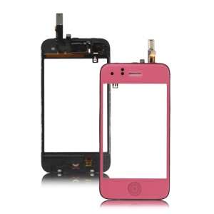 iPhone 3GS Touch Screen Digitizer Assembly Combo - Pink