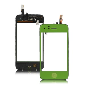iPhone 3GS Digitizer Touch Screen Assembly Combo - Green