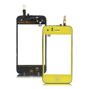 iPhone 3GS Touch Screen Digitizer Assmebly Combo - Yellow