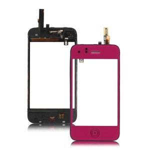 iPhone 3GS Touch Screen Digitizer with Small Parts Assembly - Rose