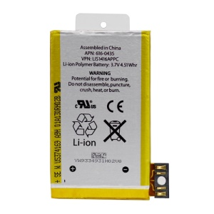 iPhone 3GS Battery Replacement Original, APN: 616-0435