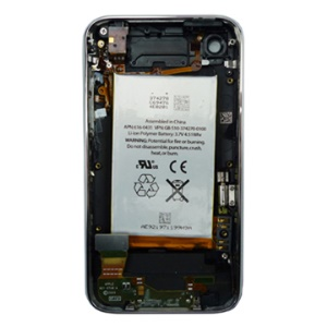 Complete Back Housing Cover Assembly Part for iPhone 3GS, 32GB with Battery