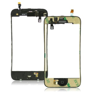iPhone 3GS Mid Chassis Bezel Digitizer LCD Frame Assembly