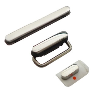 3 in 1 Button Key Kit Set for iPhone 3GS (Power/ volume/ white mute)