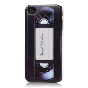 Cassette Tape Retro Hard Plastic Case for iPhone 4