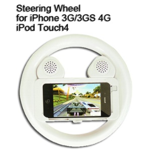 Steering Wheel for iPhone 3G/3GS/4 & iPod Touch 4