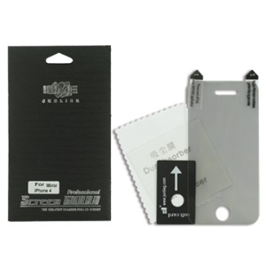 Mirror Screen Protector Guard Film for iPhone 4 / 4S - Front