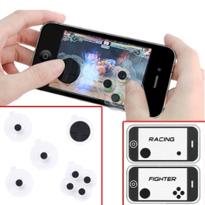 iPhone 4G/ 3GS/ iPod Touch Gaming Controller Buttons Joypad Joystick (Green Package)