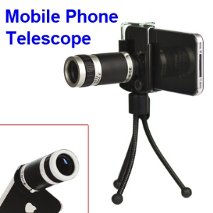 Universal Conice 6x18 Optical Zoom Camera Lens Mobile Phone Telescope for iPhone 4S 4 Samsung i9100