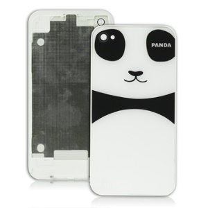 iPhone 4 4G Back Cover Panel Housing Replacement Panda Design