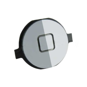 Electroplating Home Button Replacement for iPhone 4 - Silver