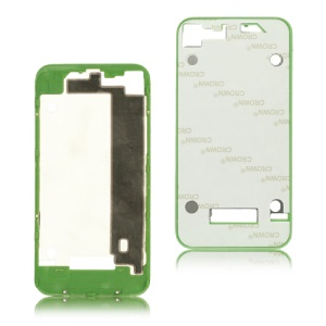 Plastic Back Cover Housing Frame Bezel for iPhone 4 - Green