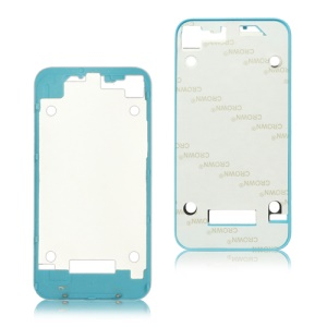 Plastic Frame Bezel for iPhone 4 Back Cover Housing - Baby Blue