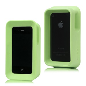 Arkhippo 2 Max Protection Stand Case Cover for iPhone 4 4S - Green