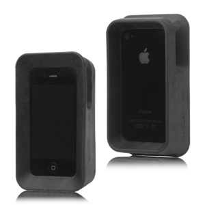 Arkhippo 2 Max Protection Case Stand for iPhone 4 4S - Black