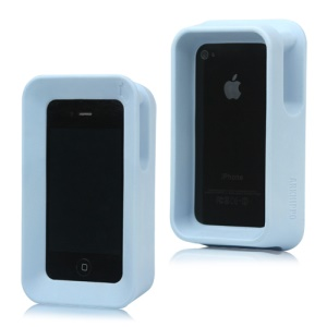 Max Protection Arkhippo 2 Stand Case Cover for iPhone 4 4S - Baby Blue