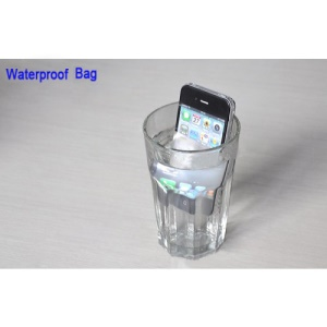 Premium Waterproof Screen Protector Guard Bag for iPhone 4 4S