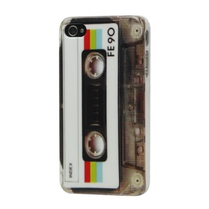Nostalgic Tape Hard Case Cover for iPhone 4 4S