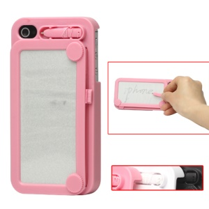 Retro Magic Drawing Board Case Hard Case for iPhone 4 4S