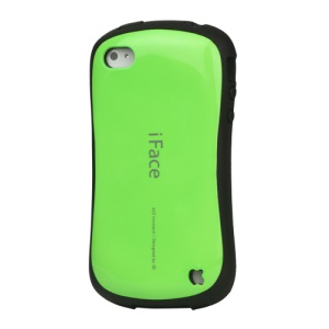 First Class iPhone 4 4S Shock-absorbing Urethane Premium Case - Green
