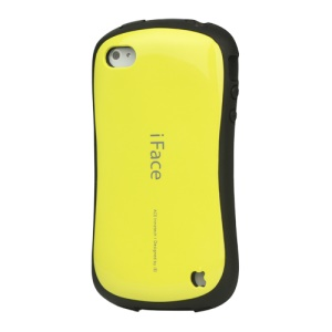First Class iPhone 4 4S Shock-absorbing Urethane Premium Case - Yellow
