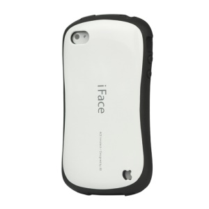 First Class iPhone 4 4S Shock-absorbing Urethane Premium Case - White