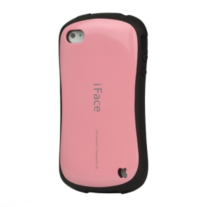 First Class iPhone 4 4S Shock-absorbing Urethane Premium Case - Pink