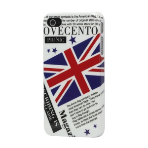 Union Jack Flag Hard Plastic Case for iPhone 4 4S