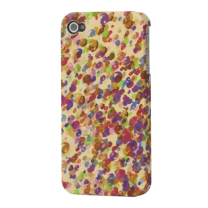 Colorized Frosted Hard Case Cover for iPhone 4 4S