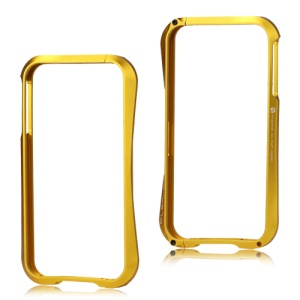 Deff Cleave Metal Blade Bumper Frame Case for iPhone 4 4S - Golden Yellow