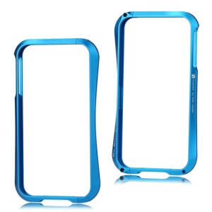 Deff Cleave Metal Blade Bumper Frame Case for iPhone 4 4S - Baby Blue
