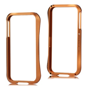 Deff Cleave Metal Blade Bumper Frame Case for iPhone 4 4S - Brown