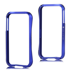 Deff Cleave Metal Blade Bumper Frame Case for iPhone 4 4S - Dark Blue