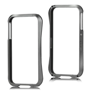 Deff Cleave Metal Blade Bumper Frame Case for iPhone 4 4S - Grey