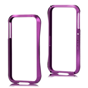 Deff Cleave Metal Blade Bumper Frame Case for iPhone 4 4S - Purple