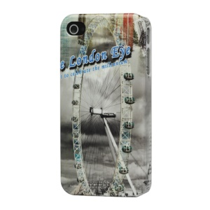 Ferris Wheel Hard Plastic Cover for iPhone 4 4S