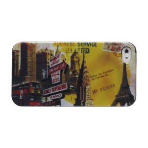 iPhone 4 4S Hard Case Cover Bus Eiffel Tower