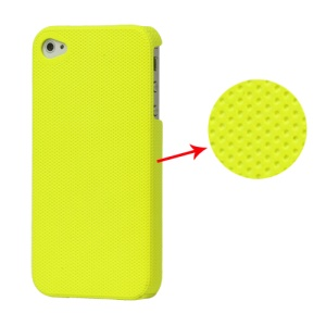 Dream Mesh Hard Plastic Case Cover for iPhone 4 4S - Light Green