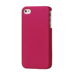 Rubberized Hard Case Cover for iPhone 4 4S - Rose