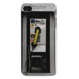 Public Telephone Hard Case Cover for iPhone 4 4S