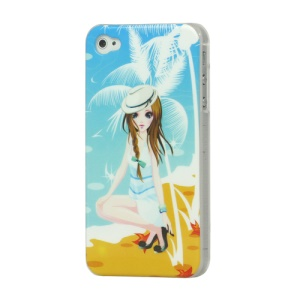 Beauty High Glossy Hard Plastic Case Cover for iPhone 4 4S
